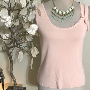 ANN TAYLOR SILK TOP
